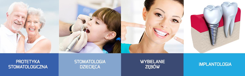 dobry stomatolog wrocław, protetyka stomatologiczna, implaty zębów, wybielanie zębów