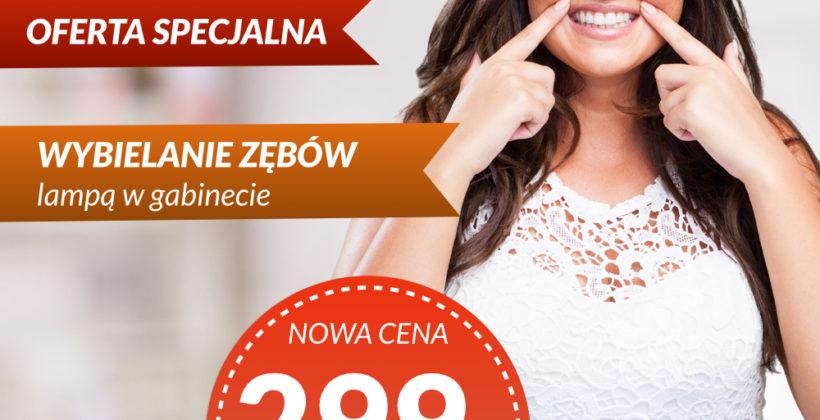 Wybielanie Zębów Wrocław OFERTA SPECJALNA