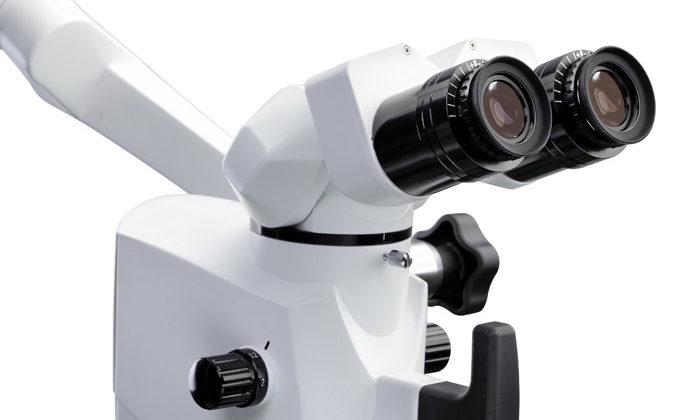 Nowoczesny Mikroskop w InterDent